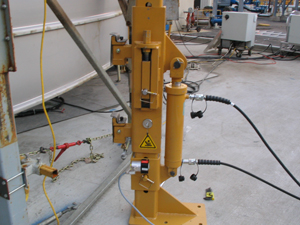 Customized lifting post with Cunningham CM Cylinder