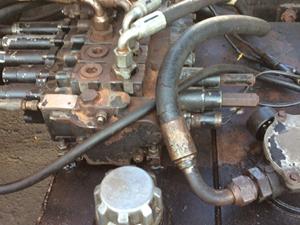 Dump Truck valve repair 3